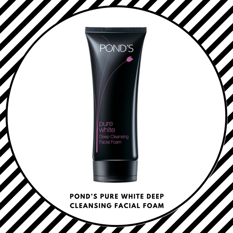Pond's Pure White Deep Cleansing Facial Foam