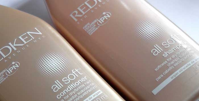 Redken All Soft Shampoo Conditioner